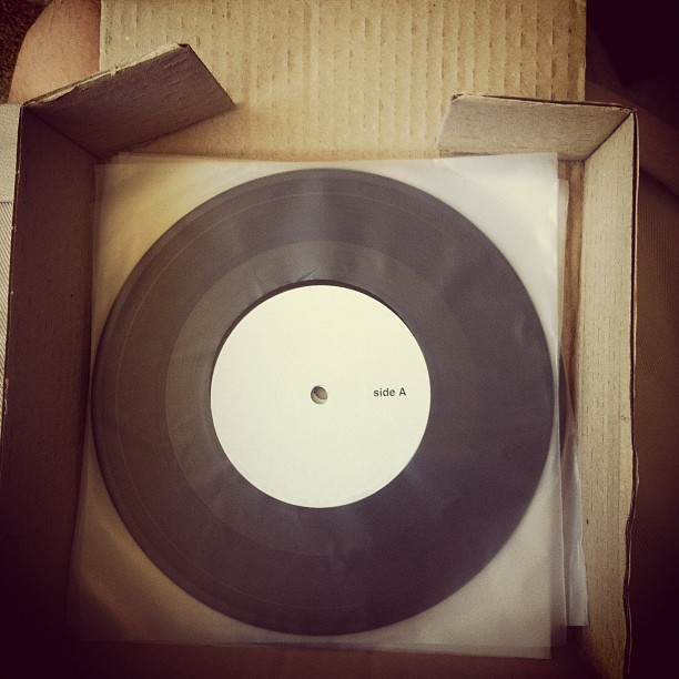 ckwebb:  Test presses NY001 (Taken with Instagram)