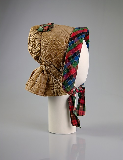 Bonnet 1845 The Metropolitan Museum of Art
