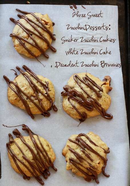 littlecraziness:  (via Zucchini Desserts: Three Ways! | i am baker)