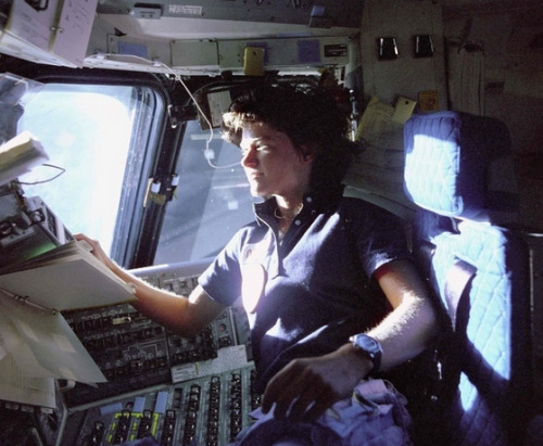 """imwithkanye:  First Female U.S. Astronaut, Sally Ride, Comes Out InObituary   BuzzFeed """"I hope it makes it easier for kids growing up gay that they know that another one of their heroes was like them,"""" Sally Ride's sister, Bear Ride, said."""
