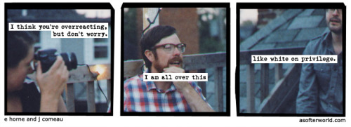 A Softer World: 843 (it turns out that privilege is pretty awesome?)