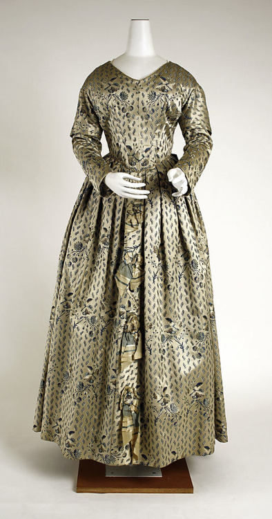 Dress 1840 The Metropolitan Museum of Art
