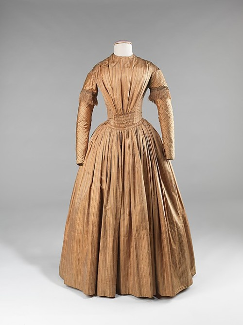 Afternoon Dress 1845 The Metropolitan Museum of Art