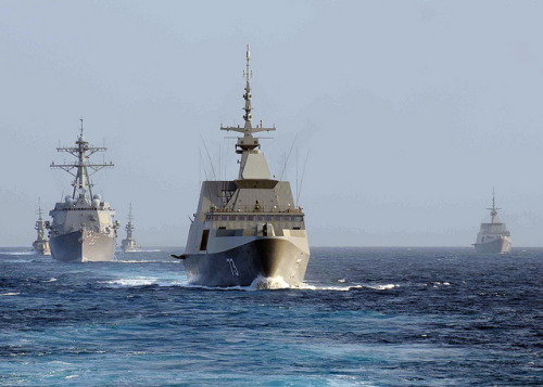 Armed conflict possible in South China Sea: ICG  |  Agence France Presse By Jason Gutierrez MANILA, Philippines–Tensions over competing claims in the South China Sea could escalate into conflict, with an arms build-up among rival nations raising the temperature, an international think tank warned Tuesday. FULL ARTICLE (AFP) Photo: Official U.S. Navy Imagery/Mass Communication Specialist 3rd Class Andrew Ryan Smith/Flickr