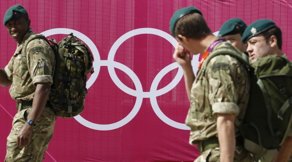 LONDON OLYMPIC DEFENCE: Thousands more troops deployed to guard the games. For full story  (Image: Reuters)
