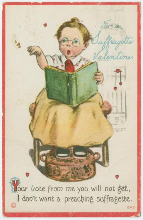 Brain Pickings | Anti-Suffragette Postcards from the Early 20th Century Related!