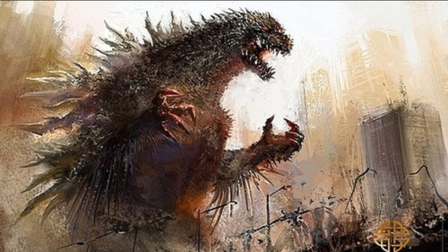 Possible new Godzilla concept art reveals a much spikier monster