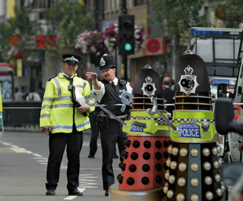 Don't mess with Olympics Security, they will EXTERMINATE you!