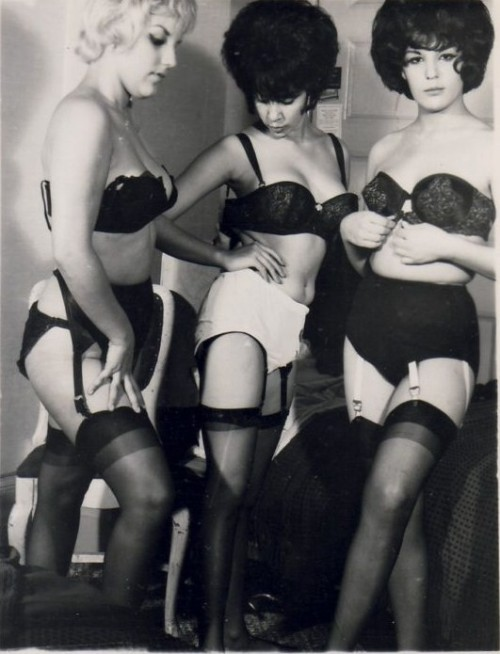 Let's just go ahead and make this the Vintage Lingerie Photo of the Day.