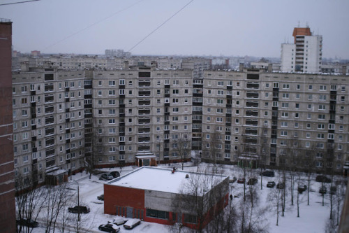 sovietbuildings:  Latvia, Riga, residential buildings