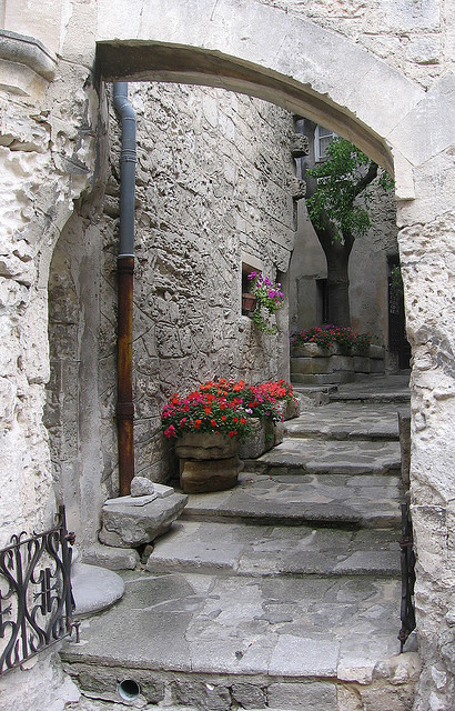 Scorcio a Les Baux-de-Provence by giansacca on Flickr.