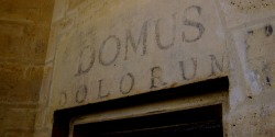 """Domus Dolorum"" - ""House of Pain"", painted by a prisoner in the donjon of Chateau Vincennes. Vincennes, France. Photo by Amber Maitrejean"
