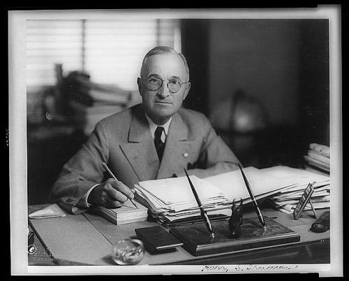 July 26, 1947:  Truman Signs National Security Act On this day in 1947, President Harry Truman signed the National Security Act which, first, brought together the Navy Department and War Department under a new Department of Defense; second, established the National Security Council; and lastly, set up the Central Intelligence Agency (CIA). The following year on the same day, Truman signed executive orders prohibiting discrimination in the U.S. armed forces and federal government. Find out other accomplishments that contributed to Truman's legacy, or watch the full American Experience documentary on the 33rd president.   Photo: Library of Congress