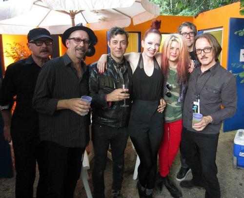 shirleyannmanson:  More fun with The Kills!