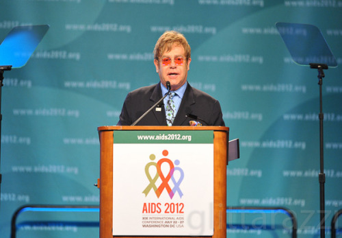 "This week marked the beginning of the 19th Annual International AIDS Conference in Washington, D.C.  ""Can Public-Private Partnerships Help Those who Think Globally, Act Locally?"" that was keynoted by singer-songwriter Elton John.  See all the photos of the event Here!"