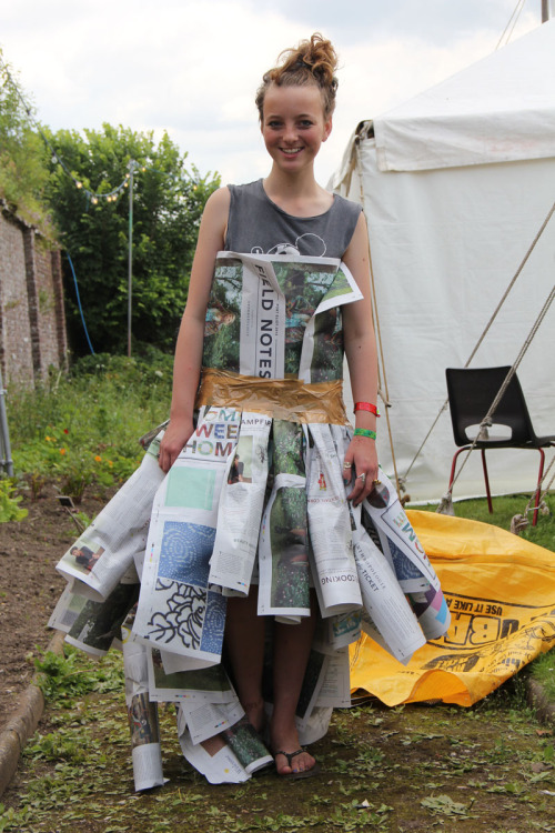 Who said paper wasn't a valuable clothing option? Not us!