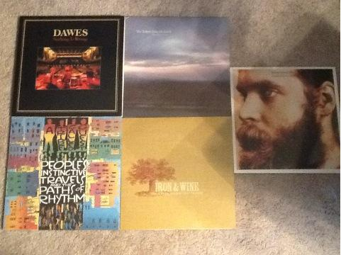 Here is this weekend's haul. I'm just waiting on The Beach Boys' Smile Sessions to arrive.