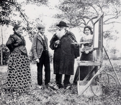 Camille Pissarro (with beard)