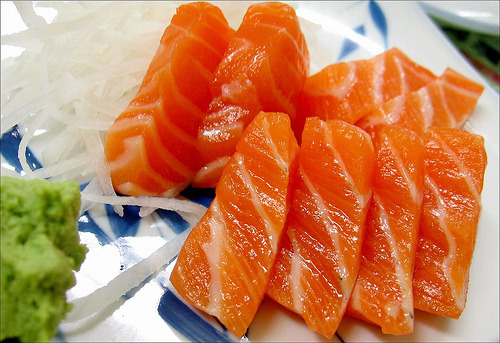 I'm craving salmon…….