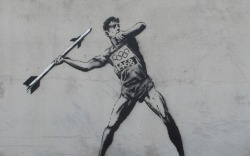 Will London Really Erase Banksy's New Olympics Art?