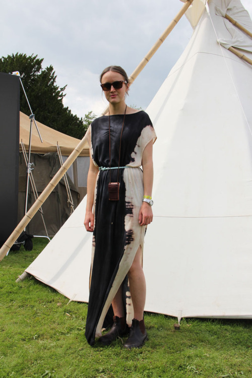 Is this the perfect tipi dress? We think so.