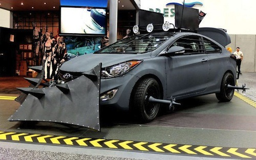 wired:  The Zombie Apocalypse car: might also come in handy during rush hour. [via DesignTaxi]
