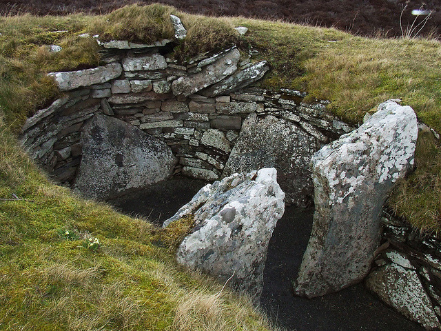Cairn of Get, a Neolithic burial cairn on the east coast of Caithness. by Shandchem on Flickr.