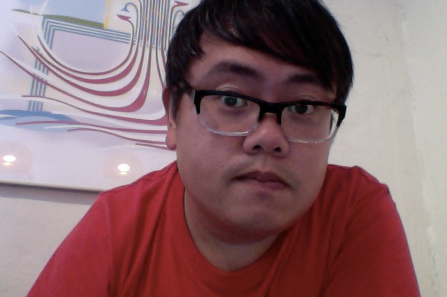 So I bought these glasses from Warby Parker… on Flickr.So I bought these glasses from Warby Parker, but they aren't really made for Asian faces. I say that because the bridge of my nose is pretty low and the glasses don't come with the little noseguards other glasses do, so they slip off a lot and I end up pushing them back up. Kind of a bummer.