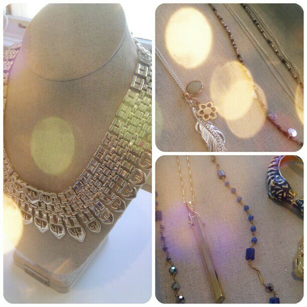 Just a few of my fave pieces from the @StellaDot Fall preview today. #Bold #edgy & #delicate #jewelry  (Taken with Instagram)