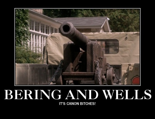 Bering and Wells - It's canon