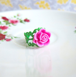 The Lost Secret Garden Rose Ring - JEWELSALEM