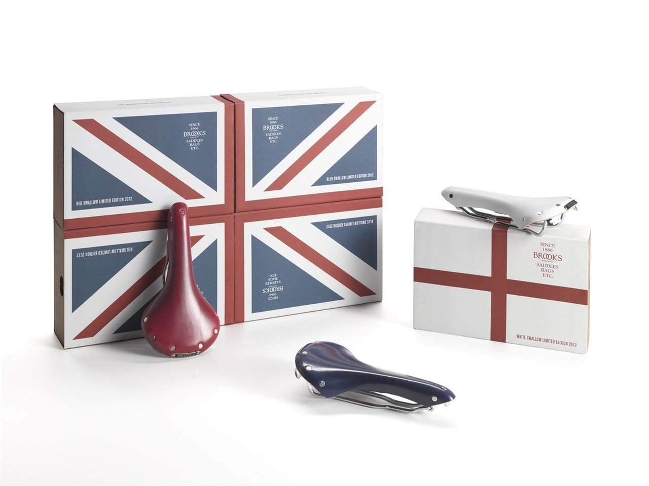Brooks Union Jack Swallow Limited Edition 2012