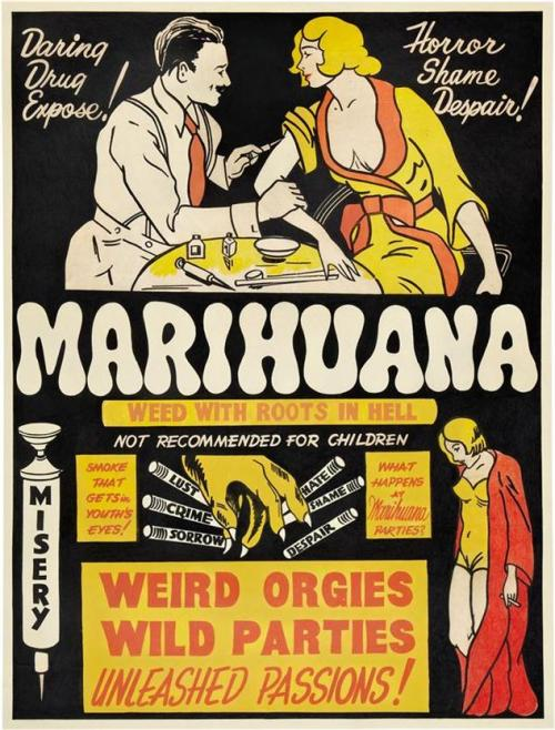 Marijuana: wild, weird, unleashed.