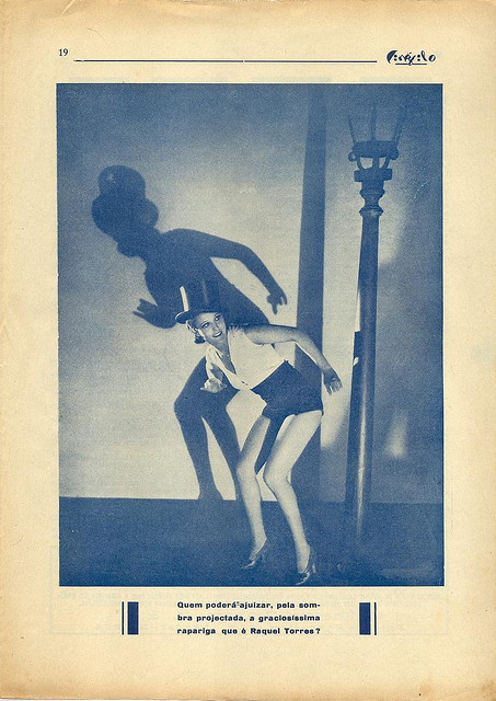Cinéfilo, Nº 109, 1930 - 19 on Flickr.  Click image for 750 x 1060 size. Mexican actress Raquel Torres.