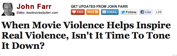 "summerjames:  chrismenning:  The Huffington Post is the worst. I know I've already said a lot of other things are the worst, and you already know how bad HuffPo is, but still. The Huffington Post is the worst.  How do we know he wasn't inspired by book violence? Or radio violence?  Or news violence, aka ""real violence""?"