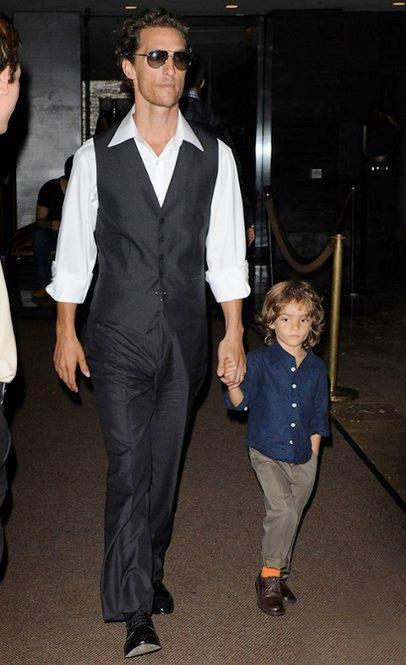 We can't even handle the cuteness level of Matthew McConaughy and Levi leaving their hotel in NYC! Check out the rest of today's hottest photos here: http://www.eonline.com/photos