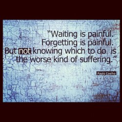 #waiting to forget? #love #questions  (Taken with Instagram)