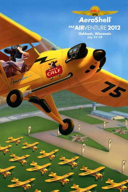Robin Moline illustrates Amoolia for AeroShell