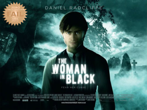 "The Woman in Black (2012) A young lawyer travels to a remote village where he discovers the vengeful ghost of a scorned woman is terrorizing the locals. Based on the novel by Susan Hill. Harry Potter all grown up… ""really???"" The poor bastard is marked for life. Daniel Radcliffe jumps from kiddie to horror. Let's take the ""scarred"" joke throughout this review shall we? Yeah. IT'S LIKE THAT. Harry Potter is a lawyer up to his neck with problems. He is given one last chance to prove himself as a worthy asset to the firm. He arrives at a house haunted by a woman dressed in black, who preys on the villagers children. Potter must resolve the issue and solve the mystery of the lady…  I honestly thought to myself ""i wasted time downloading this crap? and could have used my HD space for porn"". Goddamn Harry Potter… Horror films… ""Horror films are a film genre seeking to elicit a negative emotional reaction from viewers by playing on the audience's primal fears. They often feature scenes that startle the viewer, and the macabre and the supernatural are frequent themes. Thus they may overlap with the fantasy, supernatural, and thriller genres."" Was this a horror film? by definition YES. This wouldn't scare the panties off my grandma. Cheap thrills and ""boo"" scares. PG-13 -> There is NO SUCH THING AS A HORROR FILM WITH THAT RATING.  Where the hell was this film going? To the typical road of haunted houses. Simple as that. Oh yeah Harry Potter stars in it. BUT the real star of the show is ""the location"" and set. Awesome shit right there. ""It's a classic approach"" PLEASE. Watch a classic film if that's the case. And trust me… people did not go to the theater because of the ""story"". To be fair… Potter CAN act…  A standard horror mystery movie which will go unnoticed."