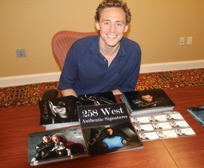 Here is the proof that Tom DID sign the 258 autographs!!!!