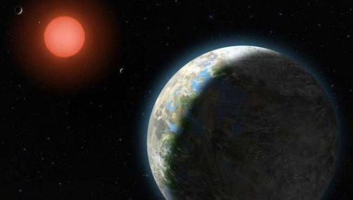 mothernaturenetwork:  Gliese 581g tops list of alien planets that might host lifeThe planet is likely two to three times as massive as Earth, zips around its sun every 30 days or so and is only 20 light-years away from our solar system.