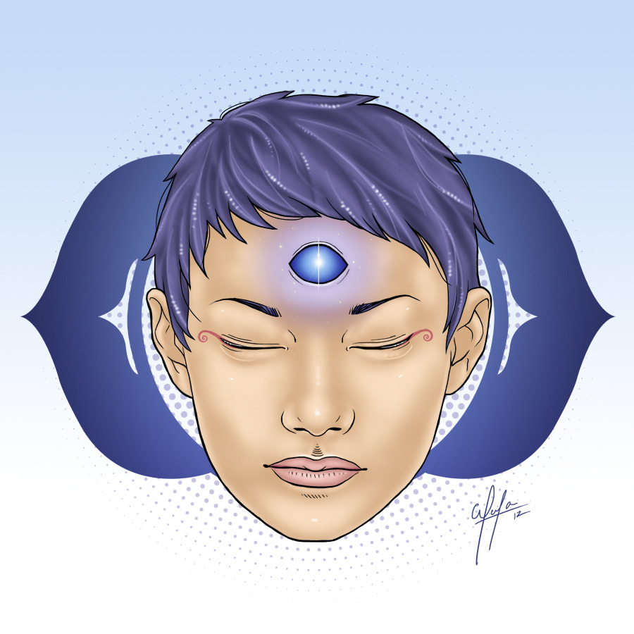 Third Eye - Ajna - The Infinity See it on DeviantART