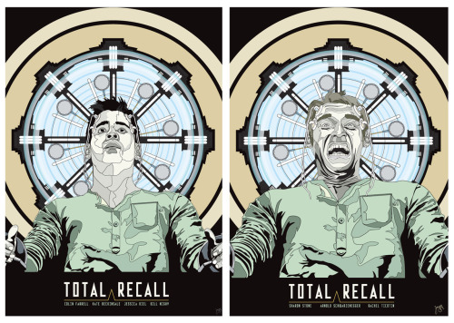 Total Recall posters by Jamesy Design