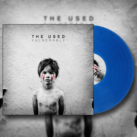 Hopeless Records is releasing a limited number of translucent blue vinyls of the Vulnerable deluxe edition! There are only 300 total pressings, so get yours before they're sold out!Option #1: Deluxe LP (Translucent Blue) w/ download card & stencil: $20 http://hopelessrecords.merchnow.com/products/145582Option #2: Shirt + Deluxe LP (Translucent Blue) w/ download card & stencil: $30 http://hopelessrecords.merchnow.com/products/145588