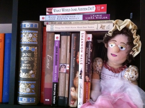 madaboutjaneausten:  Jane Austen - Little Thinker (source)  lol that doll! #fine eyes