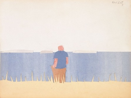 "In honor of artist Alex Katz's birthday, enjoy ""Untitiled"", a summery landscape scene from our collection:"