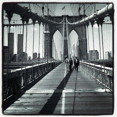 Brooklyn Bridge #ny #nyc #newyork #newyorkcity #manhattan #brooklyn (Wurde mit Instagram aufgenommen)