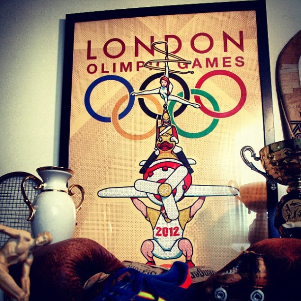 #Olympic Games #2012 #London #poster (Tirada com o Instagram)