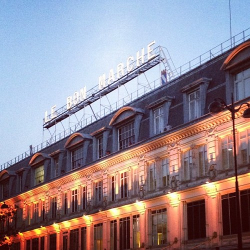 Le Bon Marche, Paris (Taken with Instagram)