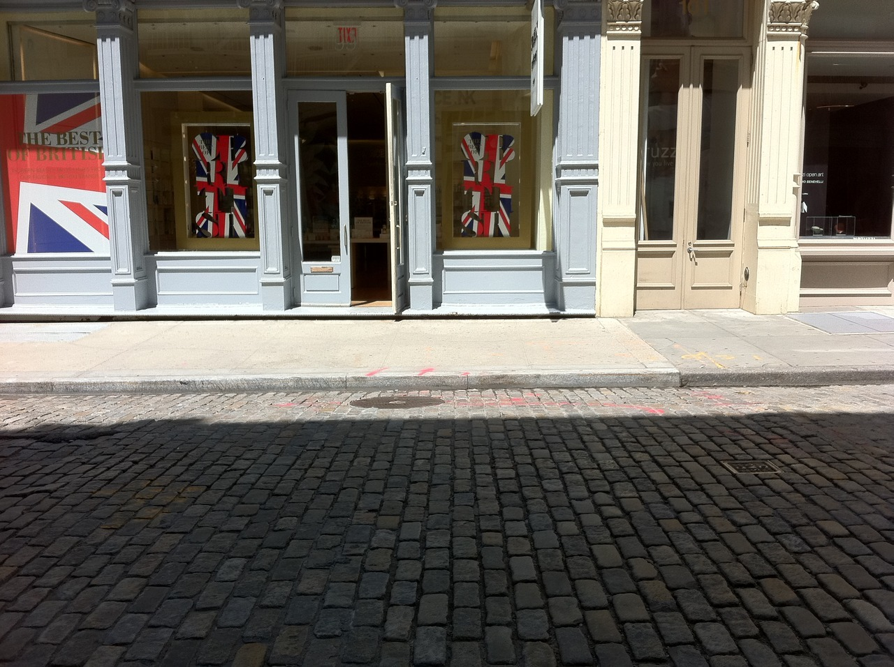 celebrating the queen's diamond jubilee in soho, manhattan